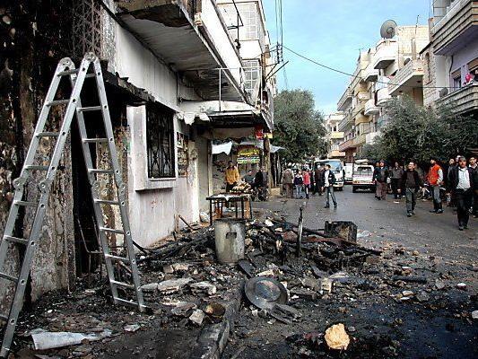 Lage in Homs wird immer ärger