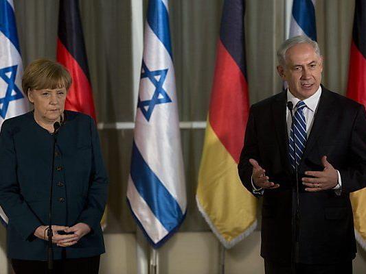 Merkel für zwei Tage in Israel