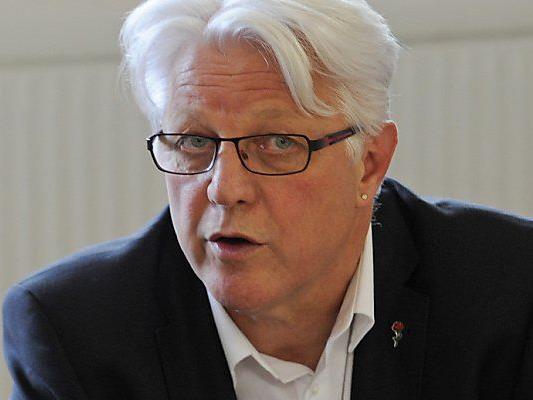 Der geschäftsführende SPÖ-Chef Gerhard Reheis