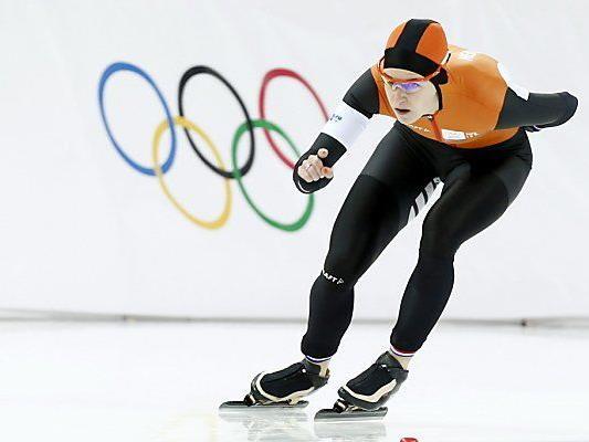 Niederlandes Eisschnelllauf-Star Ireen Wüst