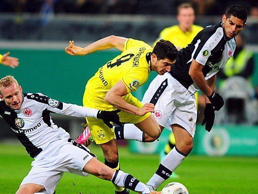 Dortmund mühte sich ins Cup-Halbfinale