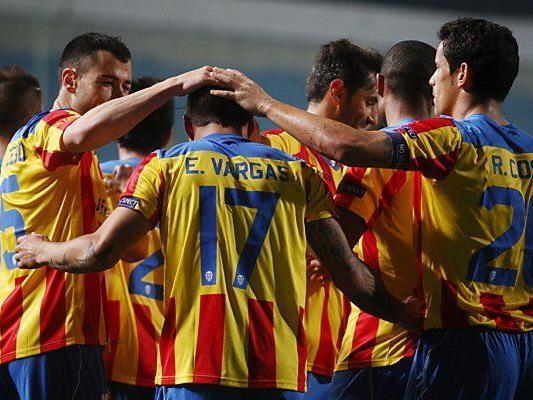 Valencia zu stark für Kiew