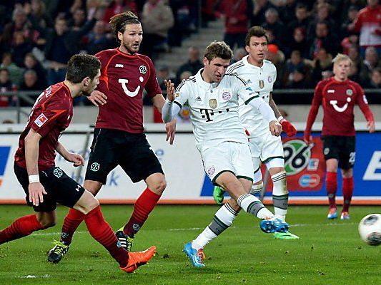 Bayern-Angreifer Thomas Müller traf im Doppelpack