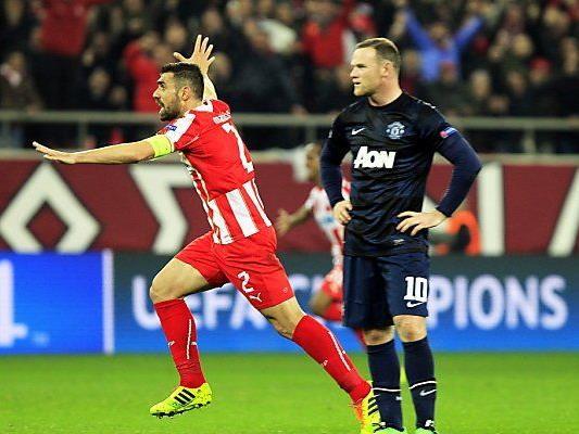 Manchester United zeigte schwache Vorstellung