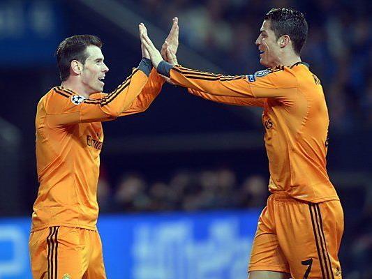 Bale und Ronaldo trafen je zweimal