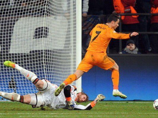 Cristiano Ronaldo einmal mehr überragend