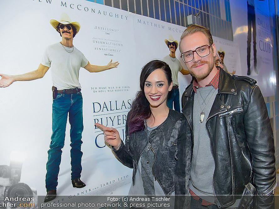 """Promis bei der Filmpremiere von """"Dallas Buyers Club"""" im Wiener Gartenbaukino."""