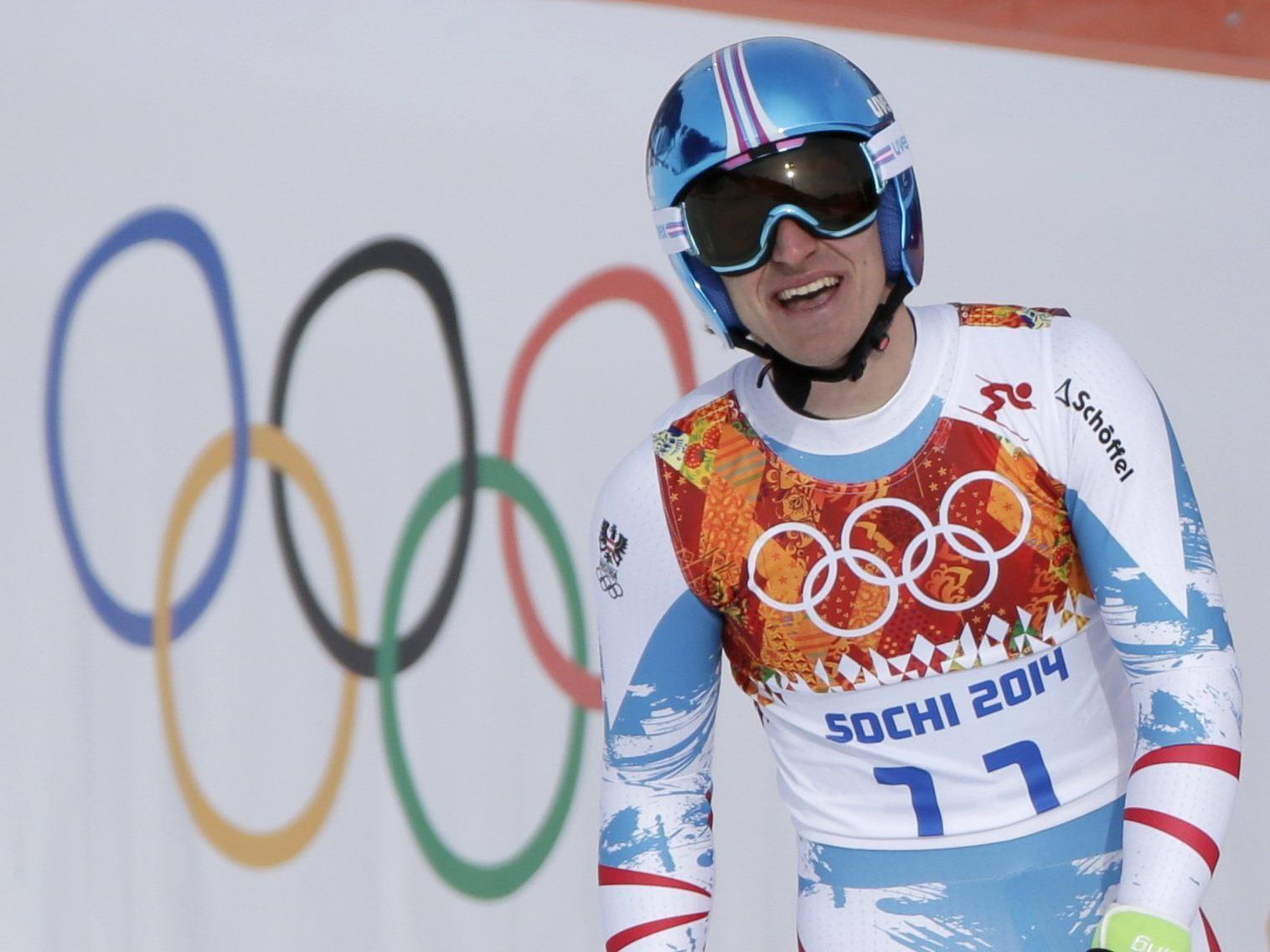 Matthias Mayer gewann Olympia-Gold in der Abfahrt.