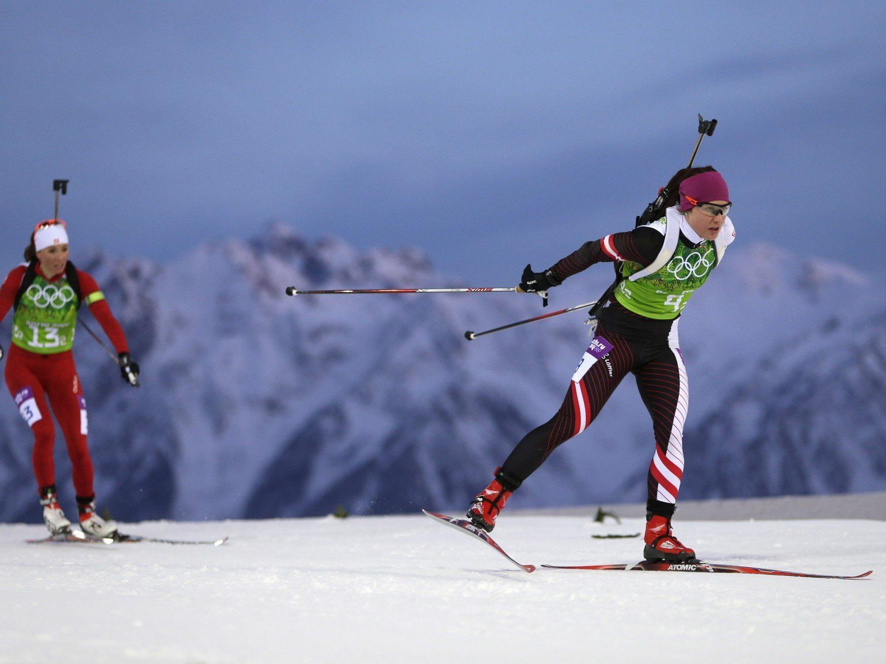 Österreichs Biathlon-Herren holten in der Staffel eine Bronze-Medaille bei den Olympischen Wintespielen in Sotschi.