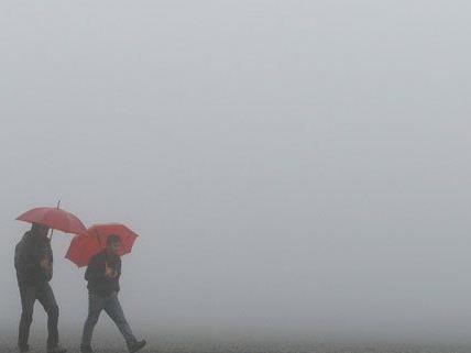 Nebelig wird es in der nächsten Woche in Wien