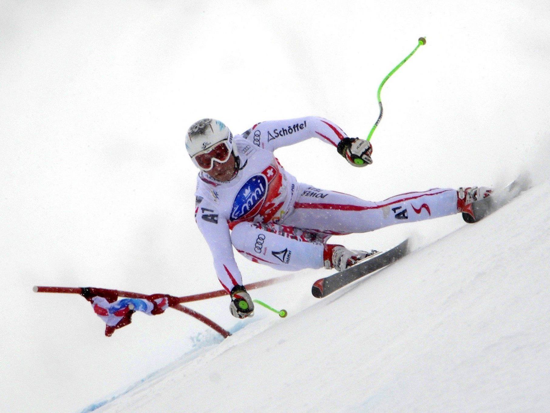 Olympische Winterspiele in Sotschi: Am Freitag starten die Herren in der Super-Kombination.