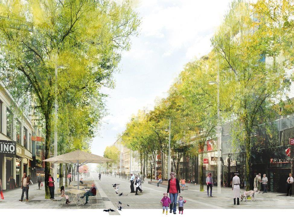 Die Wirtschaftskammer ließ Unternehmer im 6. und 7. Bezirk zur neuen Mariahilfer Straße befragen.