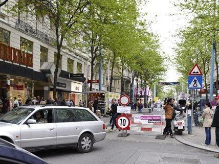 Wer darf wo hin: Verwirrung auf der Mariahilfer Straße