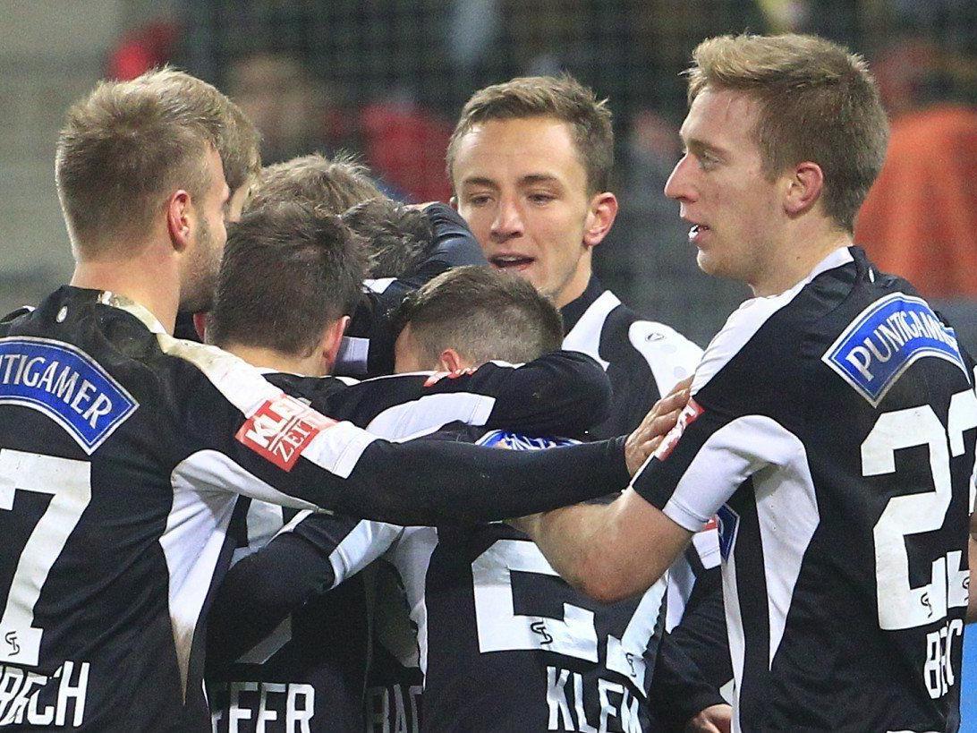 Live-Ticker zum Spiel SV Ried gegen SK Sturm Graz ab 16.30 Uhr,
