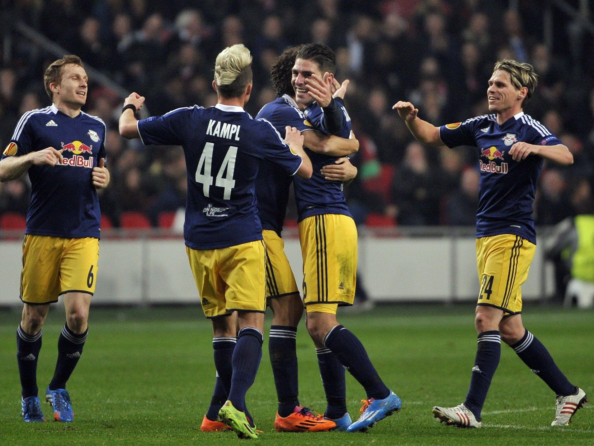 Live-Ticker zum Spiel Red Bull Salzburg gegen FC Admira Wacker Mödling ab 16.30 Uhr.
