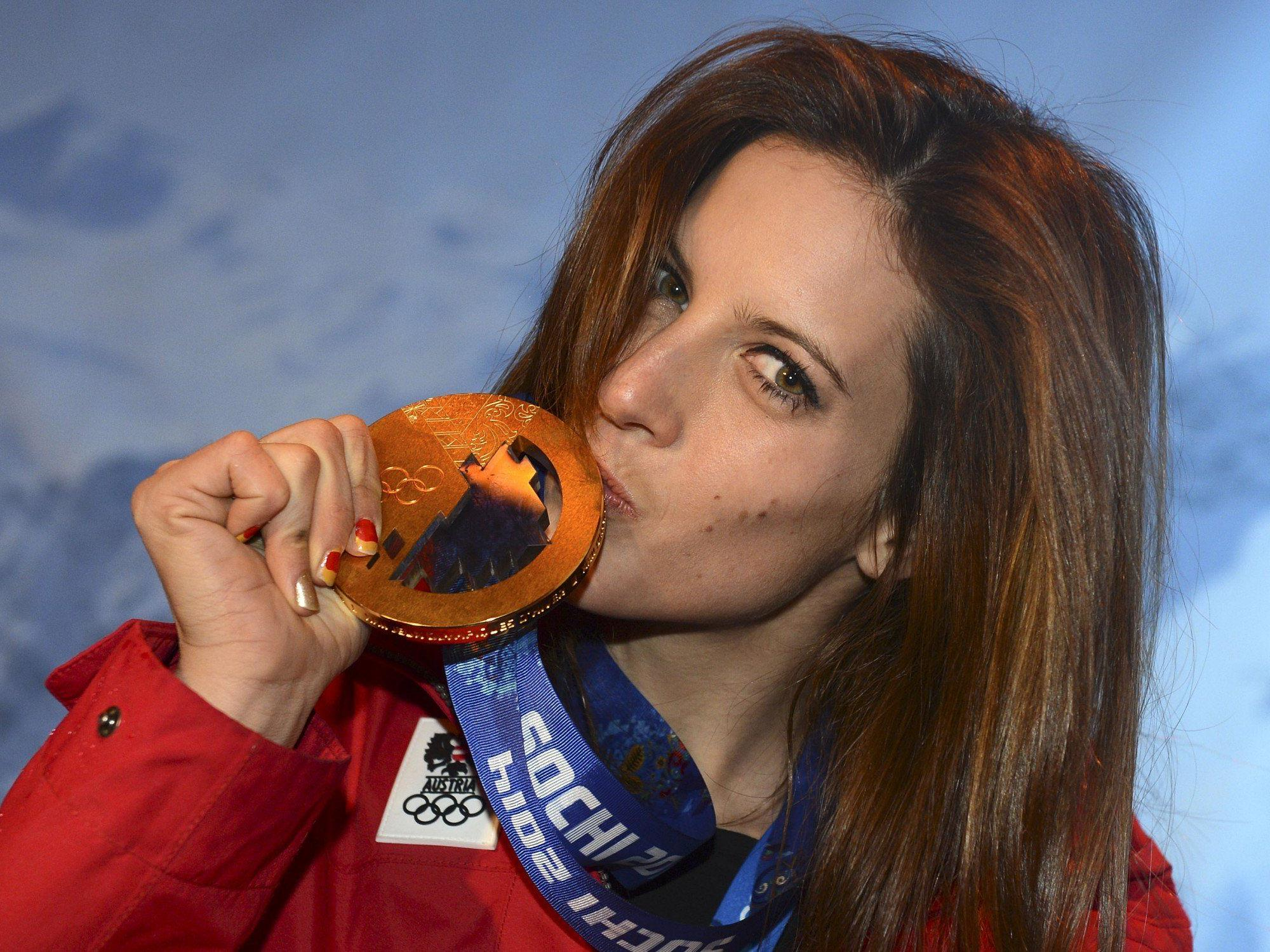 Julia Dujmovits holte erstmals Snowboard-Gold für Österreich.