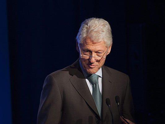 Bill Clinton blieb der Konferenz in Wien fern