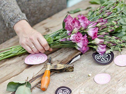 Liebevoll von Hand gemacht: Sträuße aus der Bloomerei