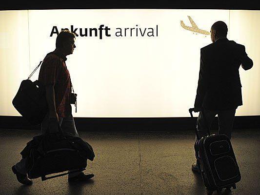 Streik am Frankfurter Flughafen wirkt sich noch nicht auf Flughafen Wien aus.