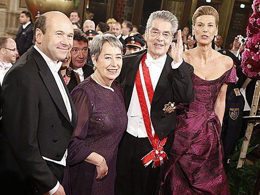 Darf am Opernball nicht fehlen: Heinz Fischer und Gattin Margit