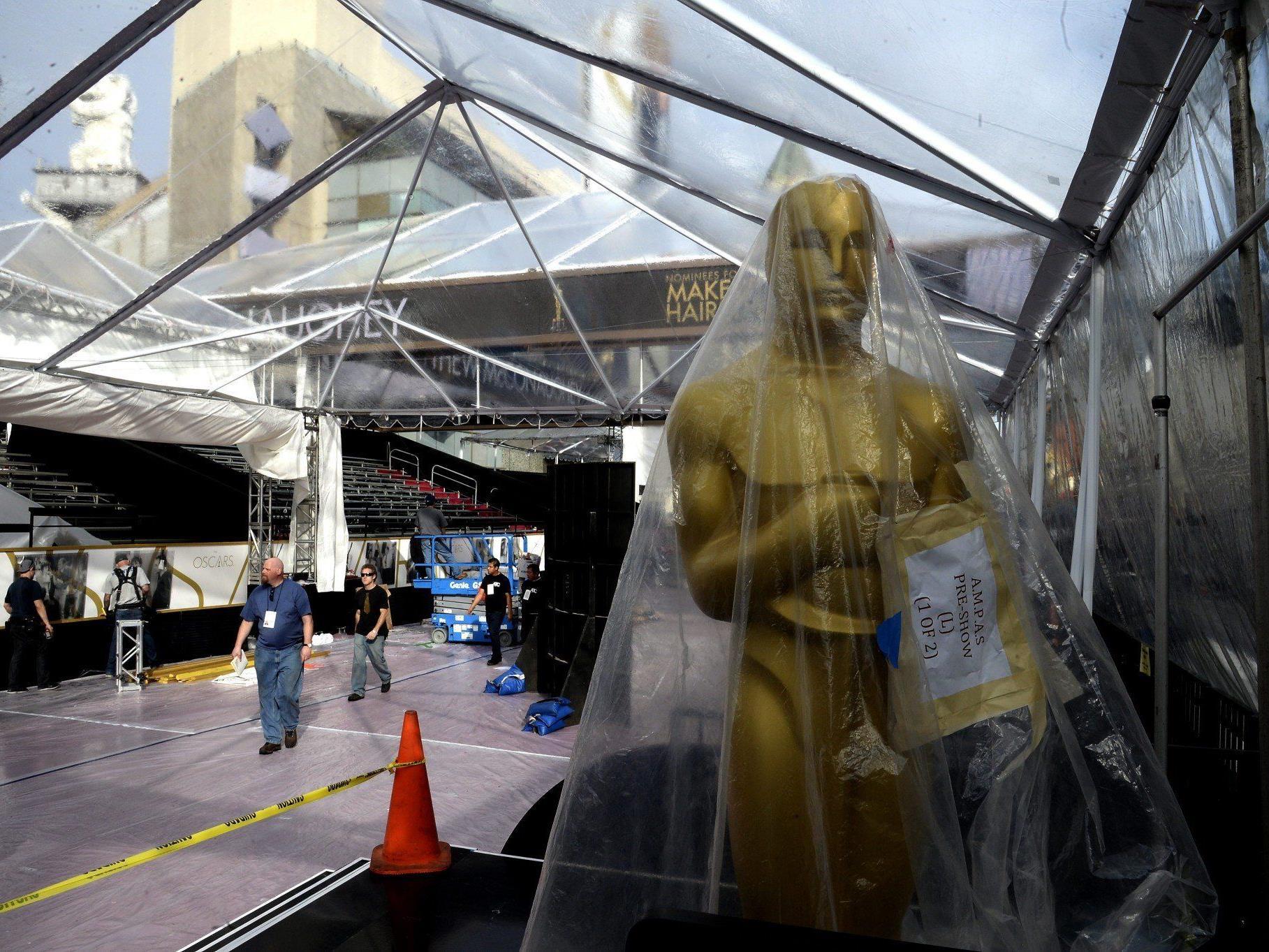 Oscar-Countdown mit Regen, Selbstbräuner und Wiener Schnitzel