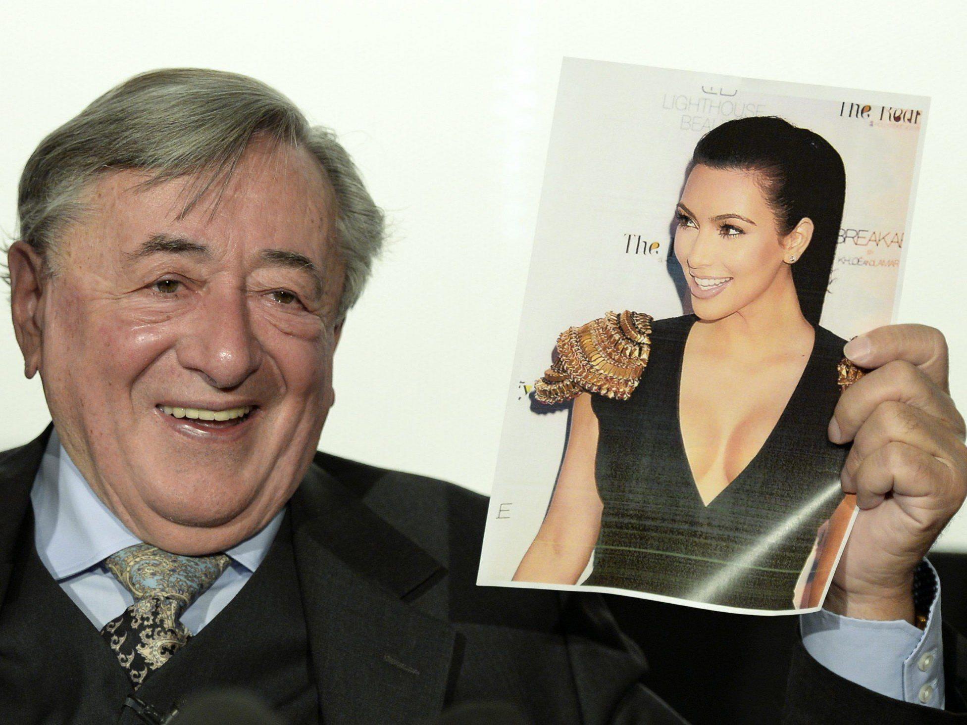 Richard Lugner darf Opernball-Stargast Kim Kardashian nicht mit seiner Stretch-Limo abholen.