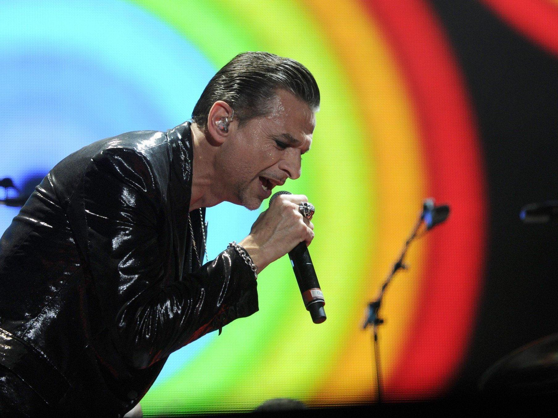 Depeche Mode gastierten am Samstag in der Wiener Stadthalle.