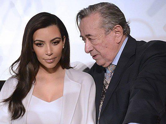 Kim Kardashian und Richard Lugner - zwei, die sich verstehen?