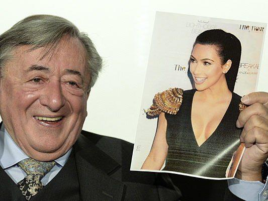 Lugner freut sich schon auf Kim Kardashian