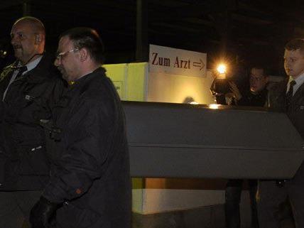 Am Tatort in Wien-Donaustadt