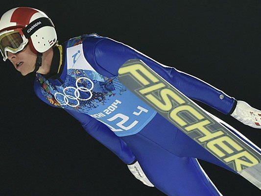 Sprung zum Silber in Sotschi: Skispringer Gregor Schlierenzauer