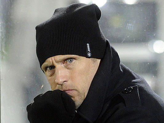 Derzeit krank: Wacker Innsbruck Trainer Michael Streiter