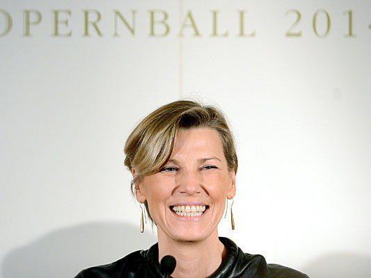 Desiree Treichl-Stürgkh fiebert dem Opernball entgegen