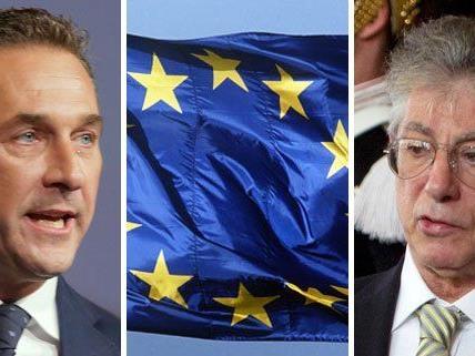 Lega Nord-Chef Matteo Salvini will eine EU-Wahlkampagne mit der FPÖ starten.