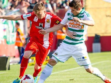 Fußball: Rapid mit Derby-Schwung gegen die Admira