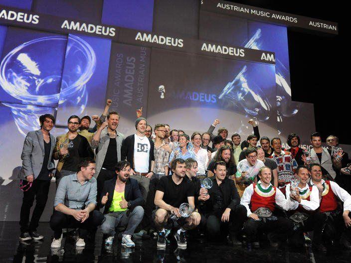 Die Amadeus Austrian Music Awards 2014 werden am 6. Mai verliehen.