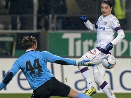 Fußball: Austria bei Gager-Heimpremiere gegen Innsbruck unter Druck