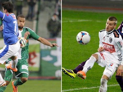 Die Samstagsspiele verliefen für Rapid und die Austria wenig erfolgreich.