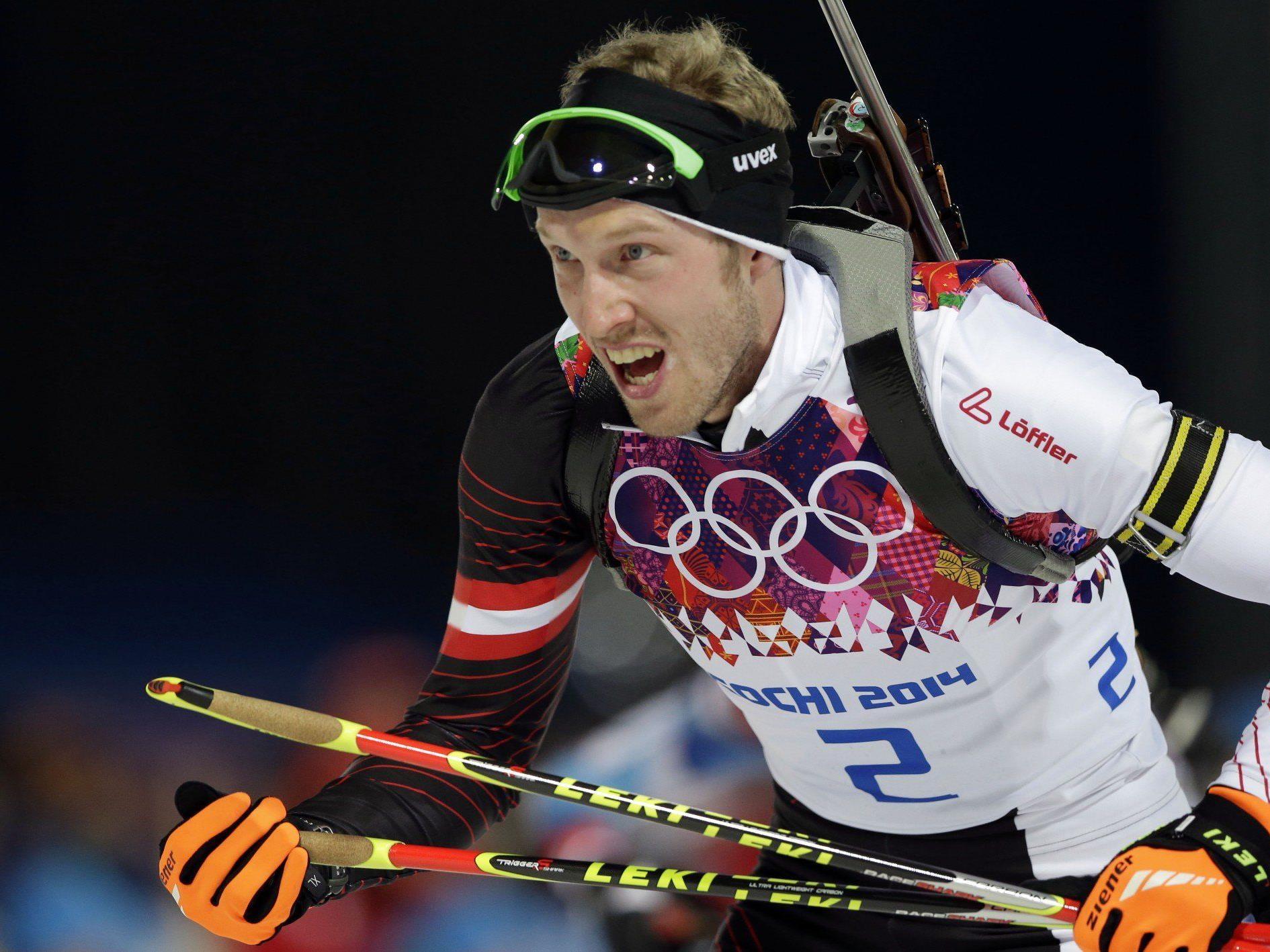 Olympia: Kein Edelmetall für Österreichs Biathleten in Verfolgung
