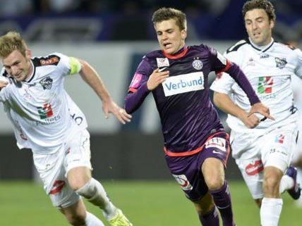 Die Wiener Austria hofft gegen den WAC auf einen positiven Trainereffekt.