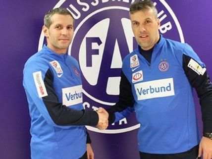Cem Sekerlioglu komplettiert zusammen mit Cheftrainer Gager das Trainerteam der Austria