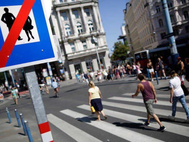Die Zukunft der Mariahilfer Straße wird mittels Umfrage entschieden.