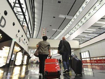 Im Vorjahr haben weniger Reisende am Flughafen geparkt.