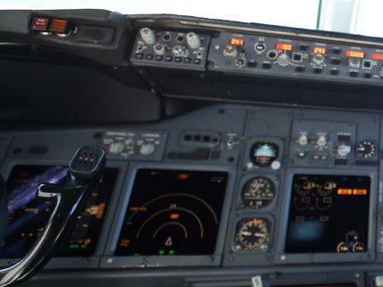 Ein Airbus A320 musste auf dem Flug von Wien nach Düsseldorf umkehren.