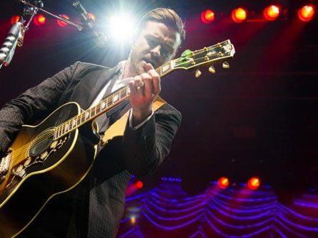 Mega-Show in Wien: Justin Timberlake live.