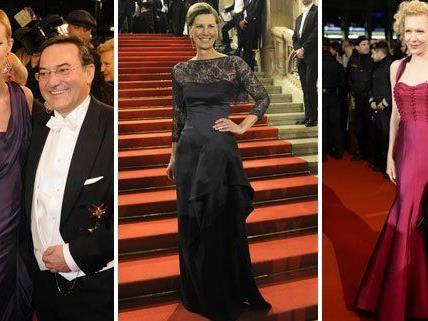 Auch viel Eleganz gab es am Opernball zu sehen.