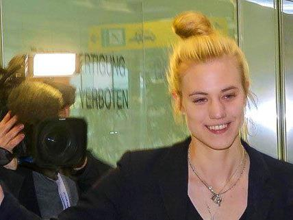 Larissa Marolt ist glücklich, wieder in Österreich zu sein.