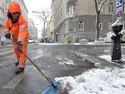 Winterwetter - Salzstreuverbot für ganz Wien aufgehoben