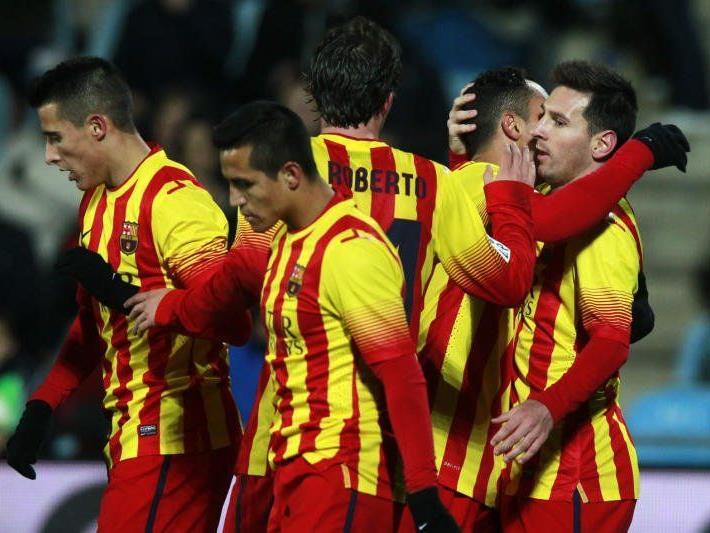 Messi zuletzt gegen Getafe erfolgreich