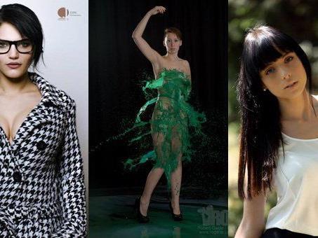 Das sind die ersten Kandidatinnen der Miss Online Wahl 2014.